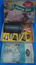 Old Vintage Tala Co. Icing Set on Cake in a box from England 1950