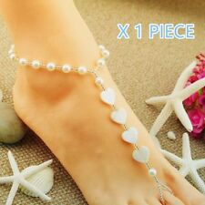 Unbranded Pearl Fashion Anklets