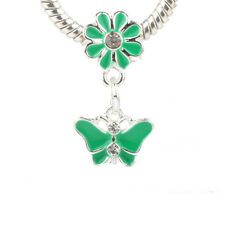 HOT Charms Beads Fit sterling 925 Necklace European charm Bracelet Chain #Q287