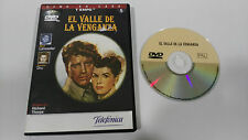 THE VALLEY OF THE VENGANZA DVD BURT LANCASTER JOANNE DRU SPANISH ENGLISH