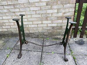 Vintage Cast Iron Machine Legs