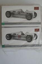 Auto-Union Typ C #18 und #111 Stuck & Rosemeyer CMC M-161 und 162 NIB 1/18