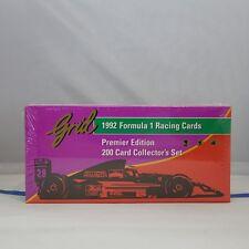 Grid 1992 Formula 1 Racing 200 Cards Set, 11 Card Gilles Villeneuve Subset,  346