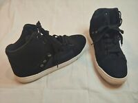 Men's Champion High Top 129313 Black Sneakers Shoes Size 11 Skid Resistant