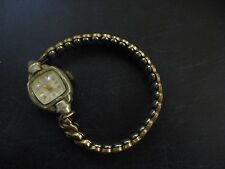 Vintage WELSBRO 17 Jewel Antimagnetic Woman's Watch Wristwatch Not Working