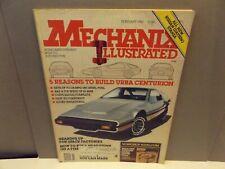 MECHANIX ILLUSTRATED February 1982 5 Reasons to Build URBA Centurion