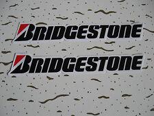 Sticker Autocollant Bridgestone pneus Motorcross Autocross Racing Race-Tunning