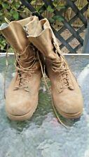 BELLEVILLE 790A Desert Tan Gore-Tex Military Combat Boots Men's 10.5R  USA!