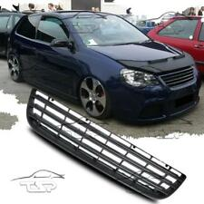 FRONT BLACK GRILL FOR VW POLO 9N3 05-09 SPOILER BODY KIT NEW