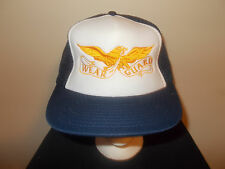 VTG-1980s Wear Guard Bald Eagle USA work clothes foam mesh trucker hat sku5