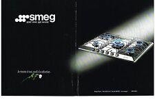 PUBLICITE ADVERTISING  2000   SMEG   éléctroménager  gazinières (2 pages)