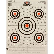 Champion 45726 Scorekeeper Rifle Sight-In Bullseye 100 yard Target 12pk