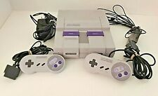 Super Nintendo Console W/ Authentic Super Mario World SNES CLEANED & TESTED!!!