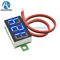 0.36 LED DC4.7-30V Blue Volt Voltage Meter Display Digital Voltmeter With 2 Wire