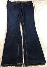 Mossimo dark blue denim jeans, size 12R