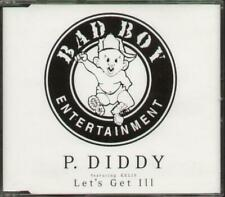 P. DIDDY FEAT KELIS Let'S Get Ill  CD 4 Track Dj Issue, Deep Dish Mix Radio Edit