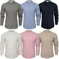 FairTrade Cream Natural Off-white Plain Grandad Shirt Cotton M L XL /& Plus Sizes