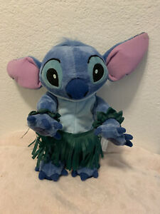 "Genuine Disney 13"" (inch) Lilo And Stitch Hula Dancing Stitch Plush Toy"
