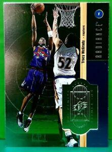 Tracy McGrady insert card Radiance 1998-99 Upper Deck SPx Finite #34