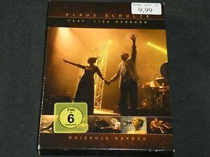 KLAUS SCHULZE & LISA GERRARD - Dziekuje Bardzo - DVD.