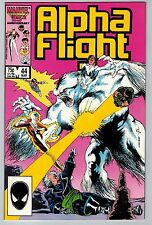 Alpha Flight #44 1987 (C5959) Marvel