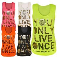 Maglie e camicie da donna Multicolore Aderente in poliestere
