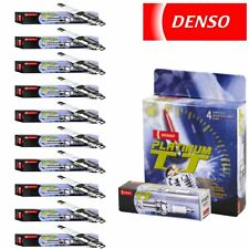 10 pc Denso Platinum TT Spark Plugs for1999 Ford E-350 Econoline Club Wagon 6.8L