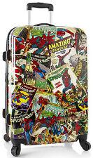 "Heys America Marvel Luggage Spider-Man 26"" Spinner Hardside Suitcase NEW"