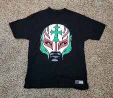 WWE Rey Mysterio 619 Booyaka Wrestling WWF Black Cotton 2008 T Shirt Size M