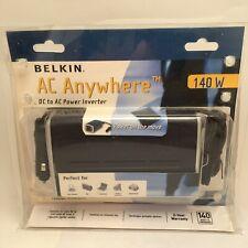 BELKIN AC Anywhere 140W 12v 240v AC Power Inverter. UK Retail Packaged