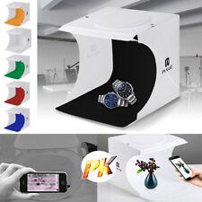 Portable Mini LED Studio Photo Box Light Photography Backdrop Room Cube Tent
