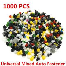 1000 Pcs Mixed  Car Door Bumper Fenders Fastener Retainer Rivet Push Pin Clip
