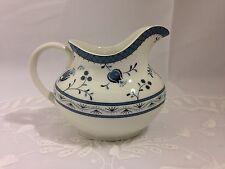 Royal Doulton England Fine China Cambridge Blue Flower Creamer Milk Jug