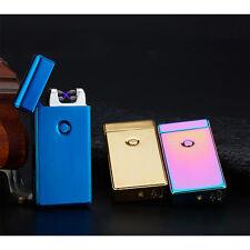 Elektro Feuerzeug Dual Arc Lichtboge Lighter USB Zigarettenanzünder Winddicht K6
