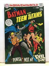 Brave and the Bold 83 Vf+ Dc Comics Batman And Teen Titans