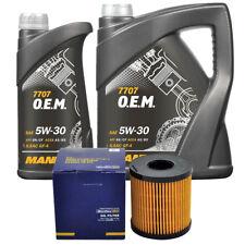 Inspektionspaket Ölfilter + 6 Liter 5W30 Motoröl