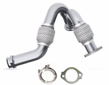 MBRP Heavy Duty Up Pipes w/ Exhaust Clamp & Gasket 03-07 Ford 6.0L Powerstroke