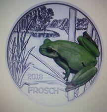 """ÖSTERREICH 3 Euro Tier-Taler 2018 """" Frosch  """" Eiamaya"""