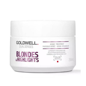 Goldwell Dualsenses Blondes & Highlights 60 seconds Treatment 200ml (Genuine)