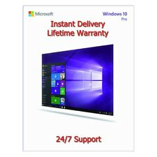 Windows 10 Professional PRO 32/4 Bit Activation Code Genuine Product License Key