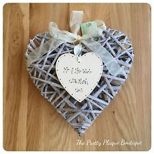 Unbranded Heart Personalised Decorative Plaques & Signs