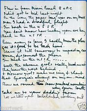 BEATLES - Paul McCartney Handwritten Lyrics 'Back In The USSR' - preprint
