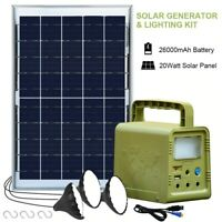 portable power station Generator solar Foldable Inverter Emergency battery bank