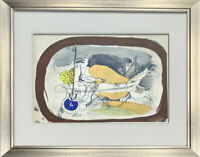 Georges Braque LIMITED Edition LITHOGRAPH w/ Archival Frame