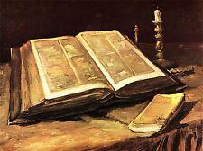 VINCENT VAN GOGH STILL LIFE VASE WITH TWELVE SUNFLOWERS OLD ART PRINT 2937OMLV