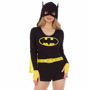 Batman Symbole à Capuche Barboteuse DC Comics Pyjama