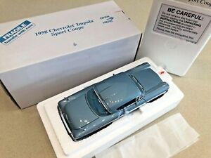 Danbury Mint 1958 Chevrolet Impala Sport Coupe - 1:24 - New In Box