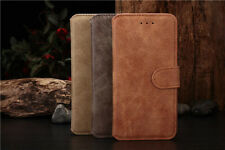 Leather Mobile Phone Case iPhone 6 6S 5 5S Samsung S4 S5 Note 2 3 Wallet Cover O