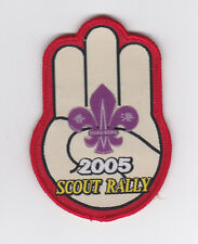 2005 SCOUTS OF HONG KONG - HK SCOUT RALLY OFFICIAL PARTICIPANTS PATCH
