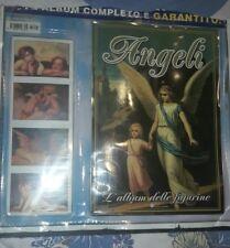 """album panini set completo Angeli supplemento """"musica in edicola no panini edis"""
